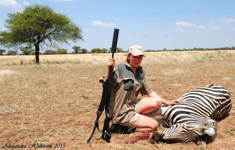 Jaktlycka i Sydafrika