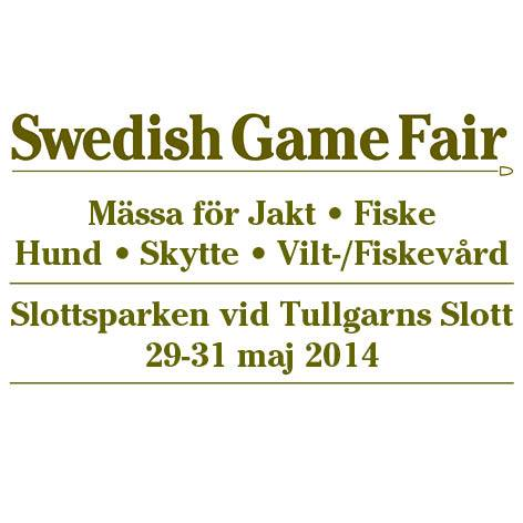 Swedish Game Fair 29-31 maj 2014